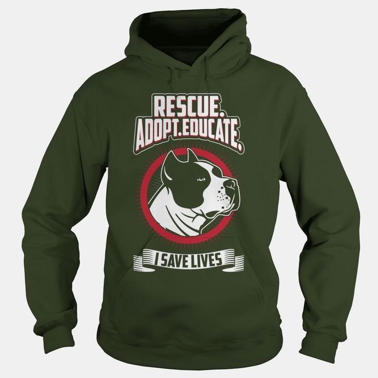 Rescue Adopt Educate - Pit Bull Shirt - Long Sleeve, Order HERE ==> https://www.sunfrog.com/Pets/114931062-455207552.html?51147, Please tag & share with your friends who would love it, #xmasgifts #jeepsafari #birthdaygifts  #rottweiler hembra, #rottweiler funny, rottweiler aleman #rottweiler #family #holidays #events #gift #home #decor #humor #illustrations