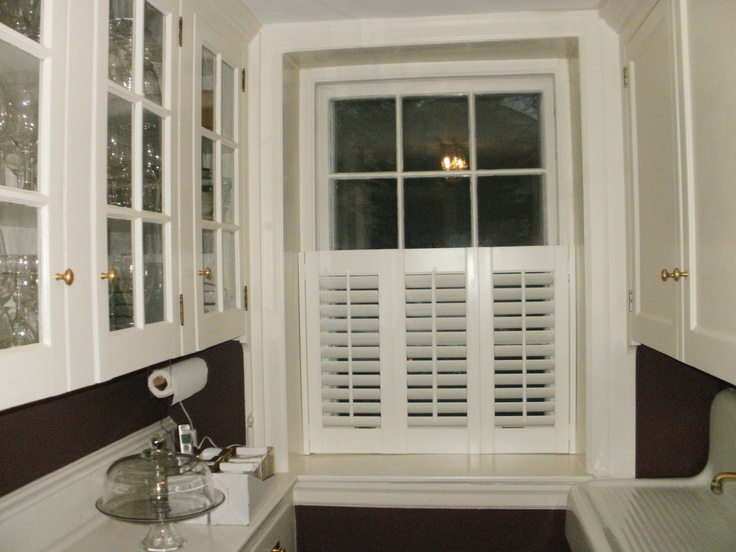 Three Panel Half Shutter Beautiful Window Treatments From The Blind Spot In Penn Valley Pa