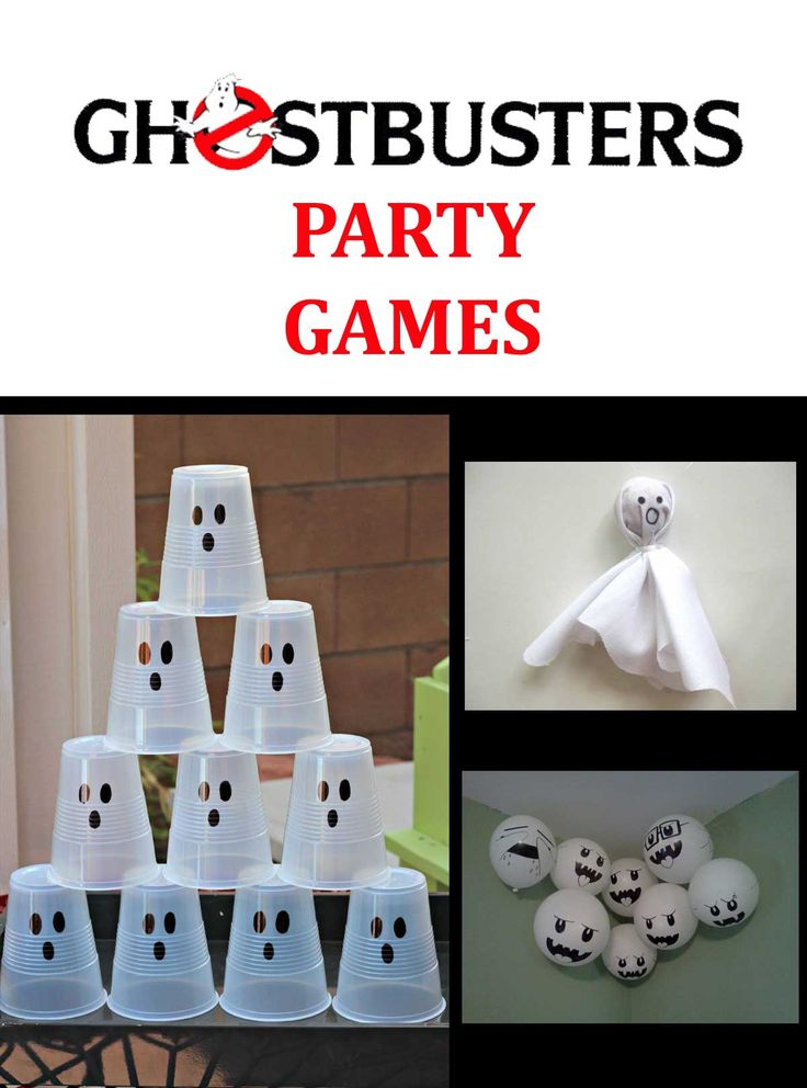 Ghostbusters party games