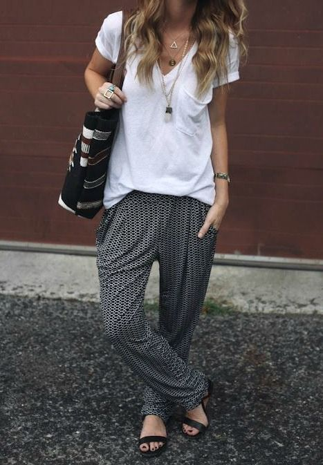 Slouchy Pants
