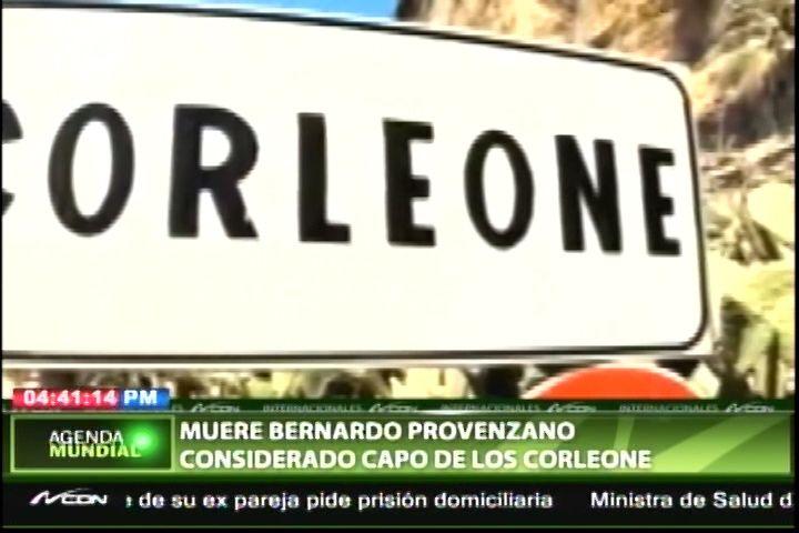 Muere Bernardo Provenzano, Considerado Como Capo De Los Corleone