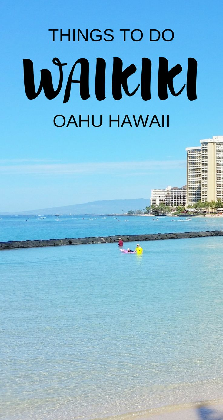 Things to do in Waikiki for free with beaches and snorkeling spots in Oahu Hawaii. For US beaches in Hawaii, activities on Waikiki Beach! Best Oahu beaches give you things to do in Oahu with nearby hiking trails, food, and shopping. USA travel destinations for bucket list world adventures when on a budget with Hawaii vacation ideas! Consider for itinerary when in Waikiki or Honolulu! Add snorkeling gear to Hawaii packing list, what to wear in Hawaii to the beach.