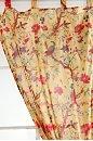 Floral Bird Curtain: Cotton Curtains, Birds Curtains, Curtains 39