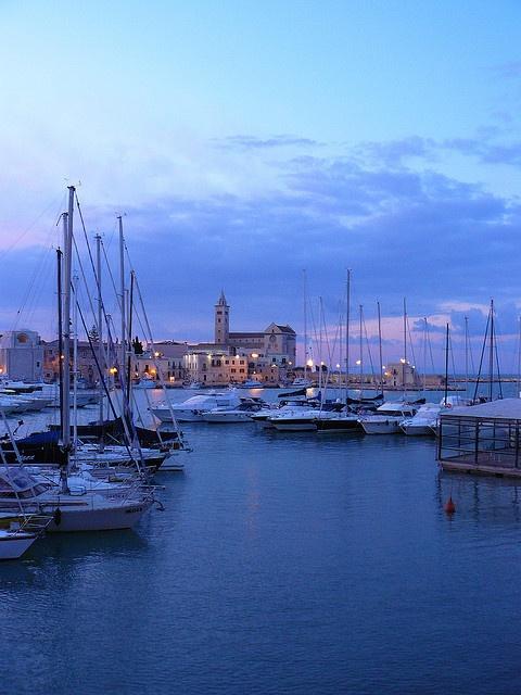 Trani, Puglia, Italy  Trani: il porto e la Cattedrale by firing_tower on Flickr