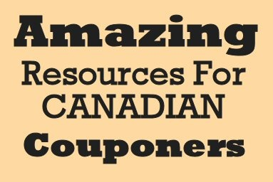 Amazing Resources for Canadian Couponers via MrsJanuary.com #extremecouponing