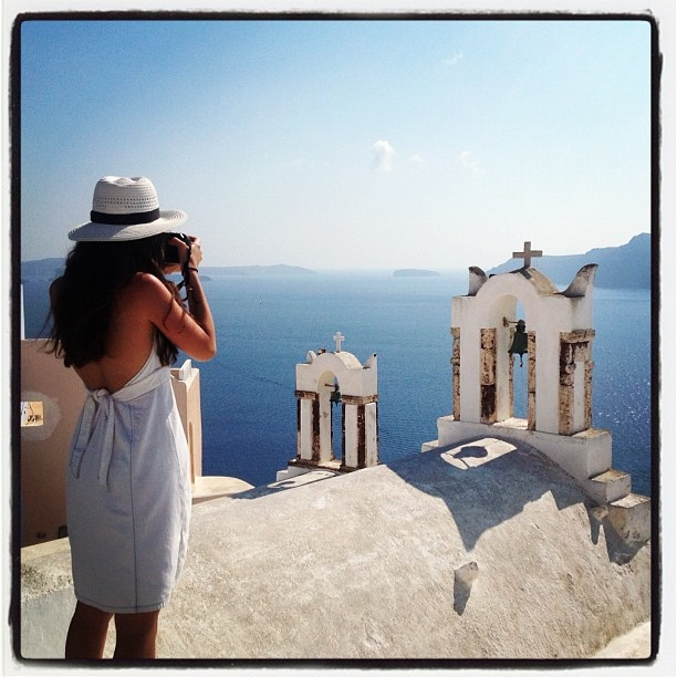 Photo taken @ Oia and shared by @LucinaMarti, via Flickr.