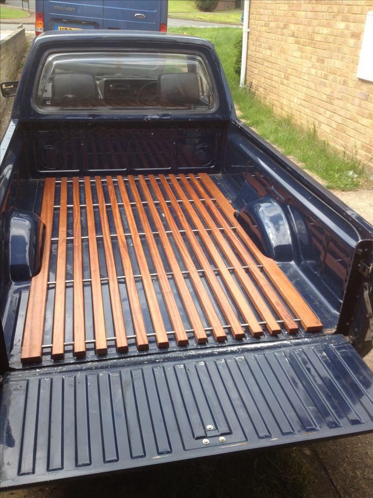 Sepeli caddy deck. Home made. VW mk1 caddys rule!