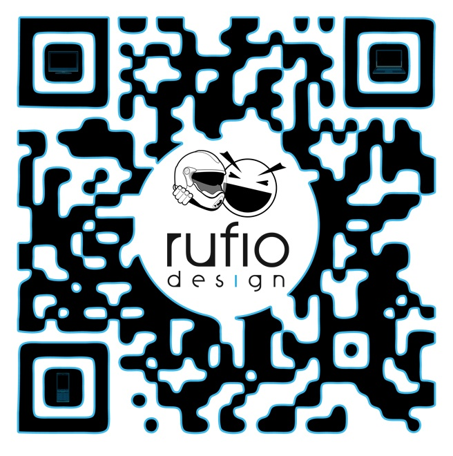 Playing with Custom QR Codes  http://rufiodesign.tumblr.com/post/65525203196/custom-qr-codes