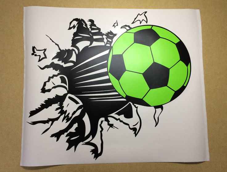 Football Wall Sticker Decal