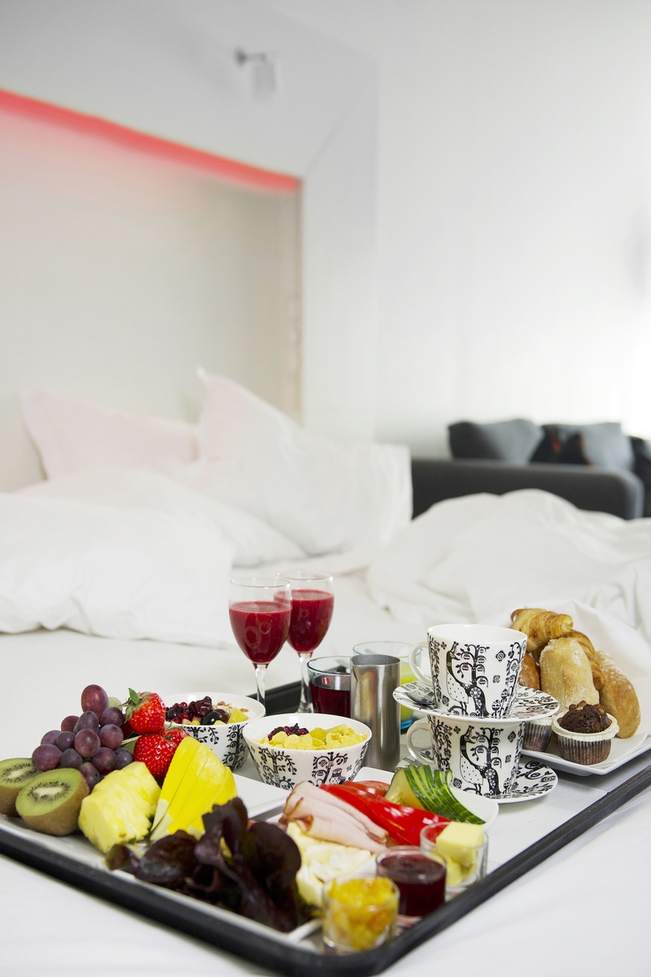 We really love breakfast in bed @Nordic Light Hotel!