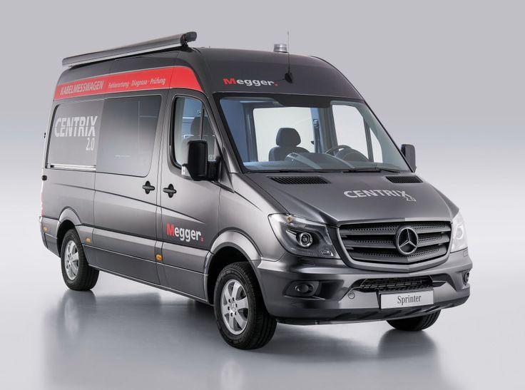Mercedes-Benz Sprinter 316 CDI Kabelmesswagen Typ Centrix 1-80 von SebaKMT (Br.906) '2015