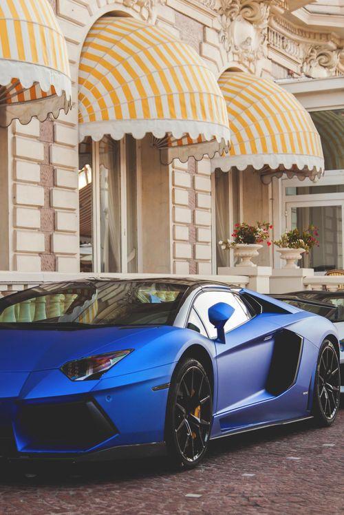 Beautiful Blue Lamborghini