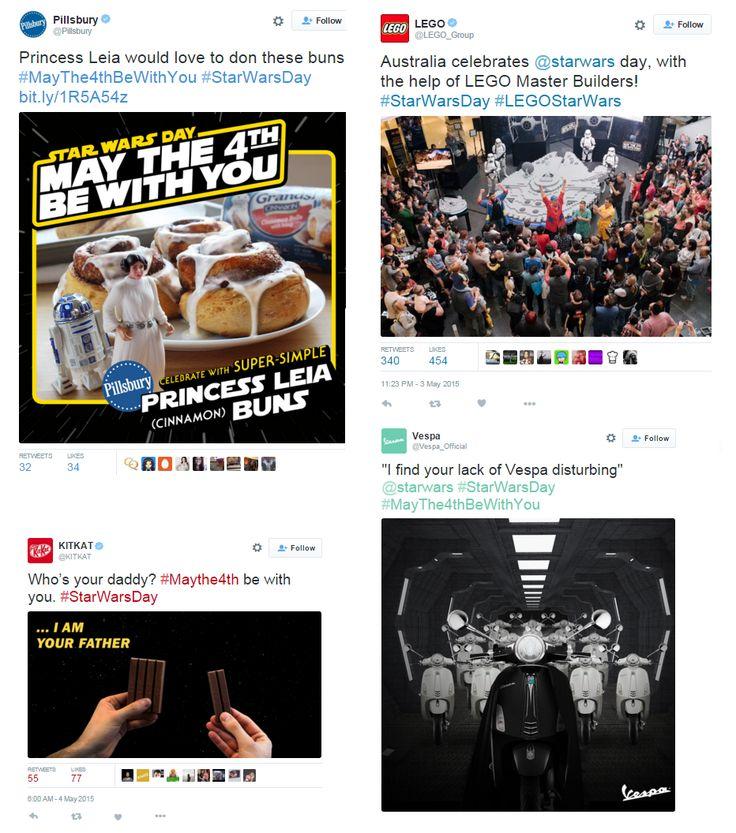 Star Wars: The Force Awakens vizyonda! 2015 yılında hangi global markalar Star Wars temalı marketing faaliyetlerine imza attı? Keşfedin; http://www.marketingtr.net/tr/blog/detay/Markalarda-Star-Wars-Pazarlamasi/6/57/0 #starwarstheforceawakens #starwars #yıldızsavaşları #güçuyanıyor #georgelucas #disney #starwarsmarketing #pazarlama #marketingtr #trend #sosyalmedya #design #tasarım #movie #darthvader #contentmarketing #marketing #vespa #lego #kitkat #pillsbury #twitter #starwarsday #tweet