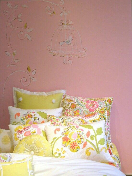 pretty bedding for mu0027s future big girl room nostalgia home fashions bedding collection