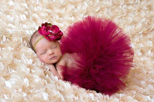 Newborn Baby Girls Skirt Tutu Clothes Knitted Crochet Photo Prop Outfits 2 | eBay