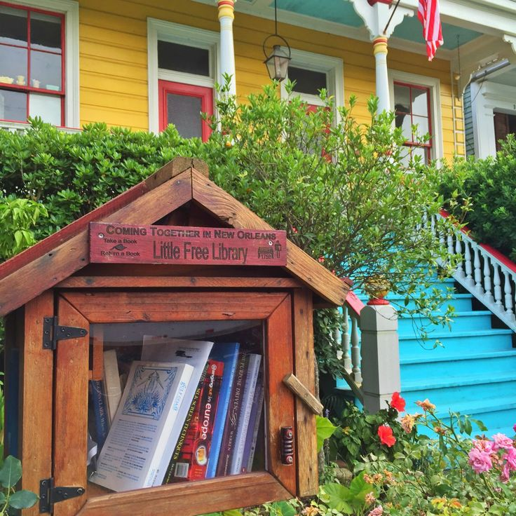 Find locations of Little Free Library in