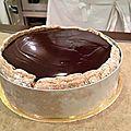 Nouveau compte rendu de cours, au programme du jour un entremet sur base de biscuits cuillères, d'une bavaroise à la pistache et d'un...