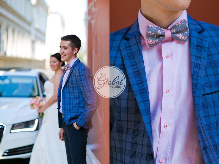 Shabby chic wedding Decor and floristic Groom bow tie Свадьба в стиле шебби-шик Декор Жених  Бабочка