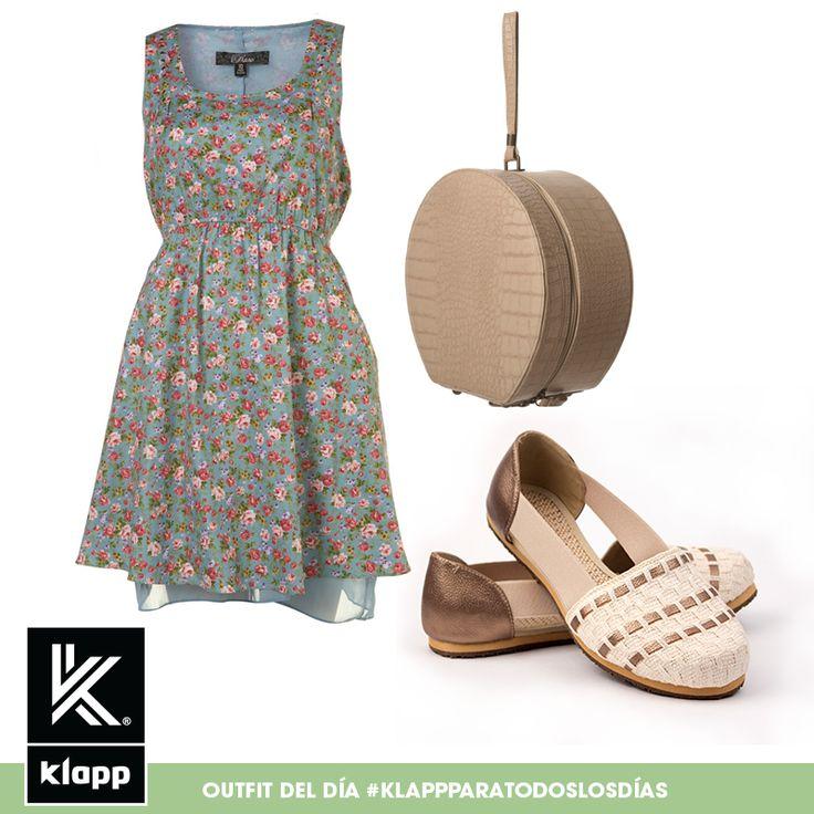 Dale like si te gusta este #outfit para salir a dar un paseo! #AmomisKlapp #outfitdeldia #meencantalamoda #Klapp