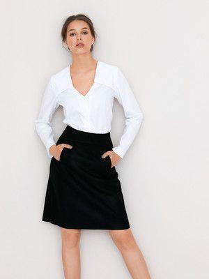 Charmant Mode Nähmustern Röcke Bilder - Schal-Strickende Muster ...