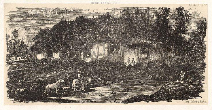 Farmyard (1861)