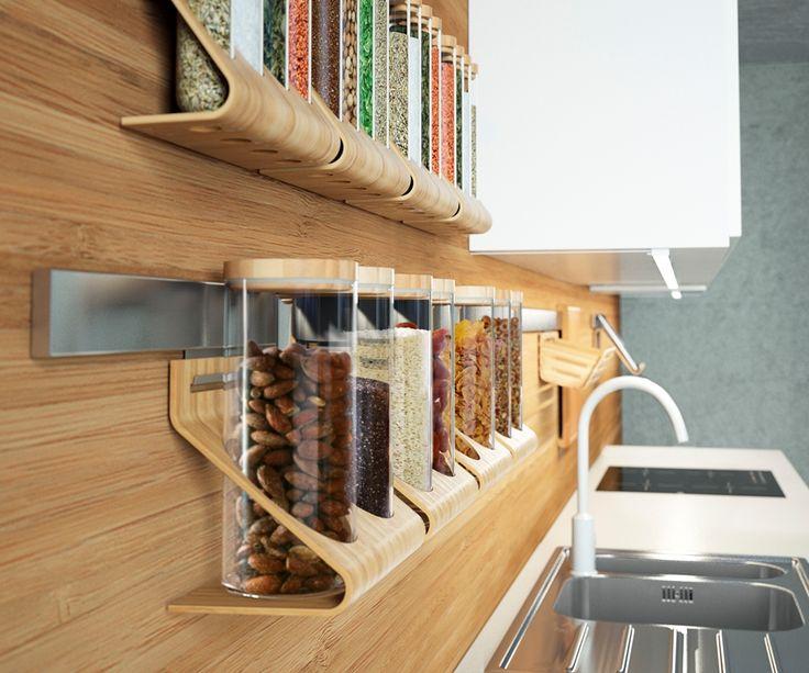 Zdjęcie nr 8 w galerii Kuchnia uporządkowana. Proste sposoby na przechowywanie – Deccoria.pl