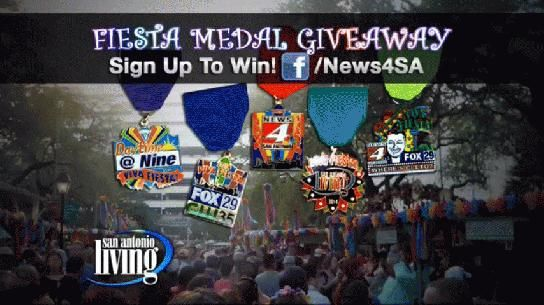 VIVA FIESTA! Win a set of our Fiesta Medals - WOAI News 4 San Antonio - Featured on Living
