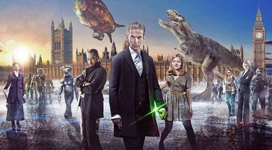 """Doctor Who"" season 8 premiere.  Planing on going to go see this!!(((::"