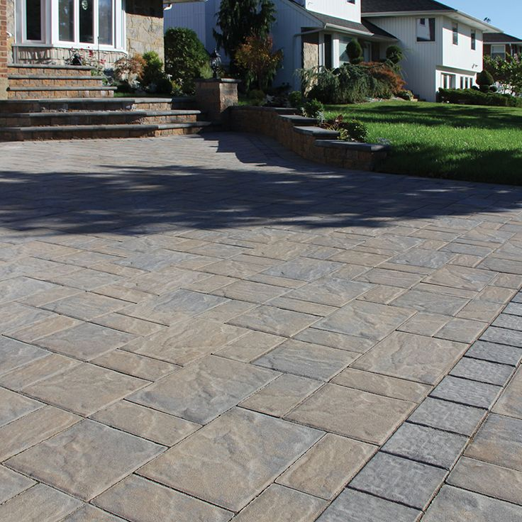 Brown Driveway Pavers : Best images about nicolock driveways on pinterest