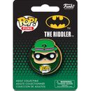 Pop! Pins DC Comics Batman Riddler Pop! Pin 8003 Funko grows the Pop! family with pins! This Batman Riddler Pop! Pin features the classic villain, done in Pop! Vinyl style on a metal pin. Pin measures about 1 1/2-inches in diameter and comes bagged  http://www.MightGet.com/january-2017-11/pop!-pins-dc-comics-batman-riddler-pop!-pin-8003.asp