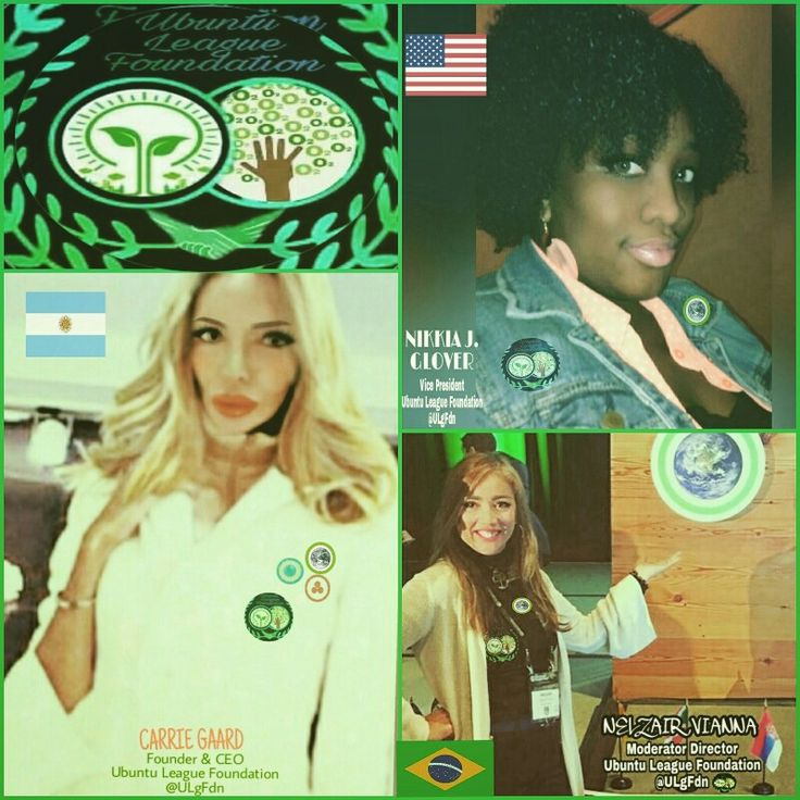 🌱UBUNTU🌍LEAGUE🌎 FOUNDATION 🌏♻ STAFF DONE✔ 3  CLIMATE LEADERS  3  STRONG WOMEN  3  DIFFERENT COUNTRIES WORKING TOGETHER IN UBUNTU!!!! IM SO HAPPY!!!!! THANK YOU GOD🙏 •Founder & President CARRIE #Argentina •Vice President NIKKIA #UnitesStates •M.Director NELZAIR #Brazil  LOVE YOU LADIESSSSSS💚🌱🍃 #LeadOnClimate #WomenPower 🍃🍃🍃🍃🍃🍃🍃🍃🍃🍃🍃