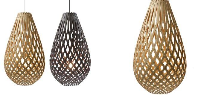 David Trubridge Lighting - Koura