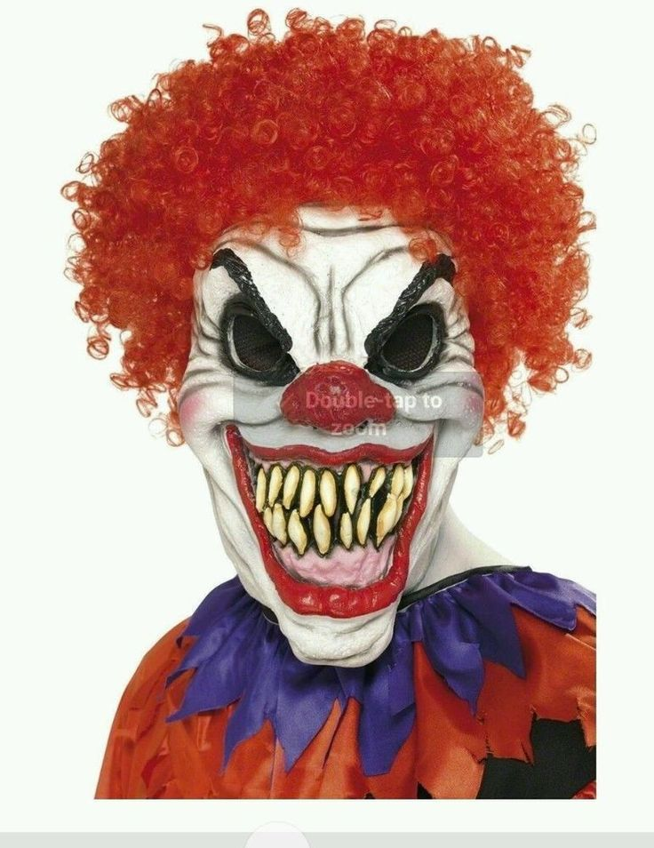 Scary Clown Mask Halloween Creepy Costume Accessory Foam Latex Evil Face New #Halloweenparty