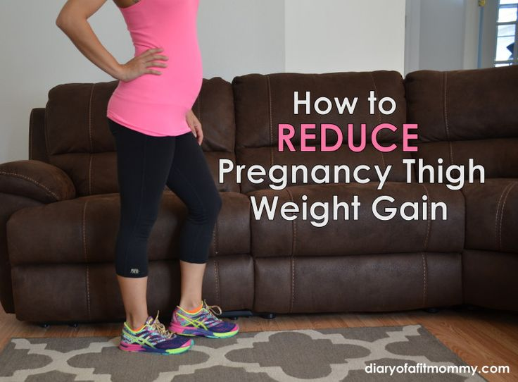 Pregnancy thigh exercises