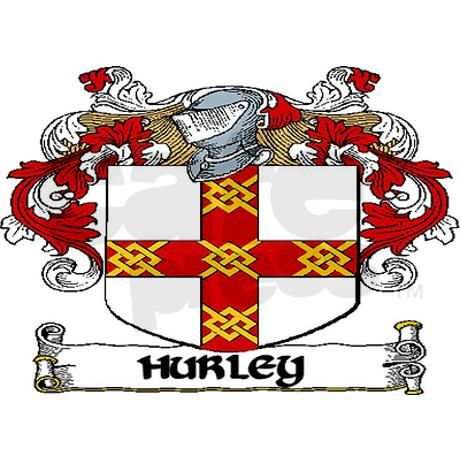 Hurley Coat of Arms Magnets - for the Irish heritage
