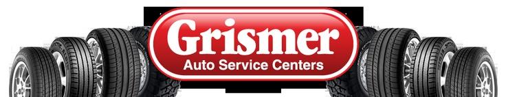 Grismer Tire & Auto Service Center Logo
