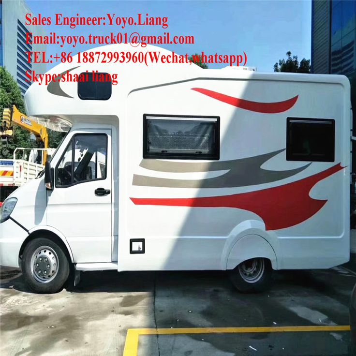 RV Manufacturer Iveco New Daily Hot Motorhome For Sale Rv