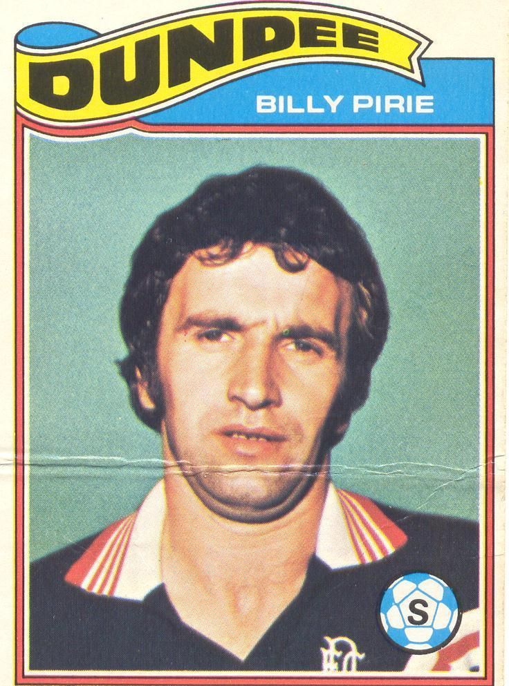 Billy Pirie Dundee FC 1977/78 Topps Chewing Gum Card No.85
