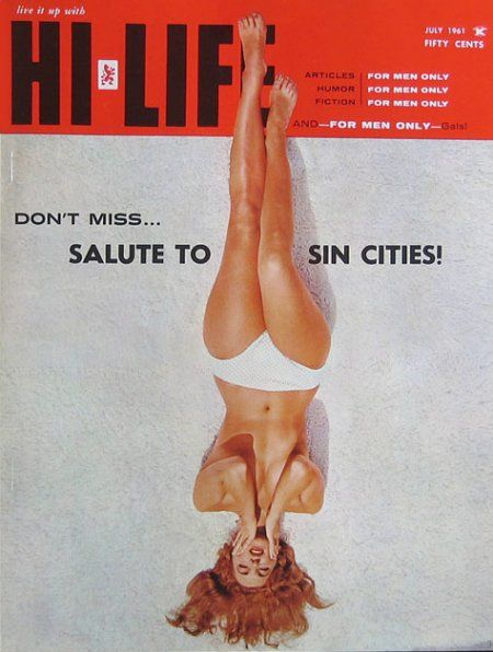 Hi-Life, July 1961Dads Stash, But Magazines, Cheesecake Magazines, Graphics Design, Hi Lif 1961, Design Art, Art Direction, July, Magazines Covers