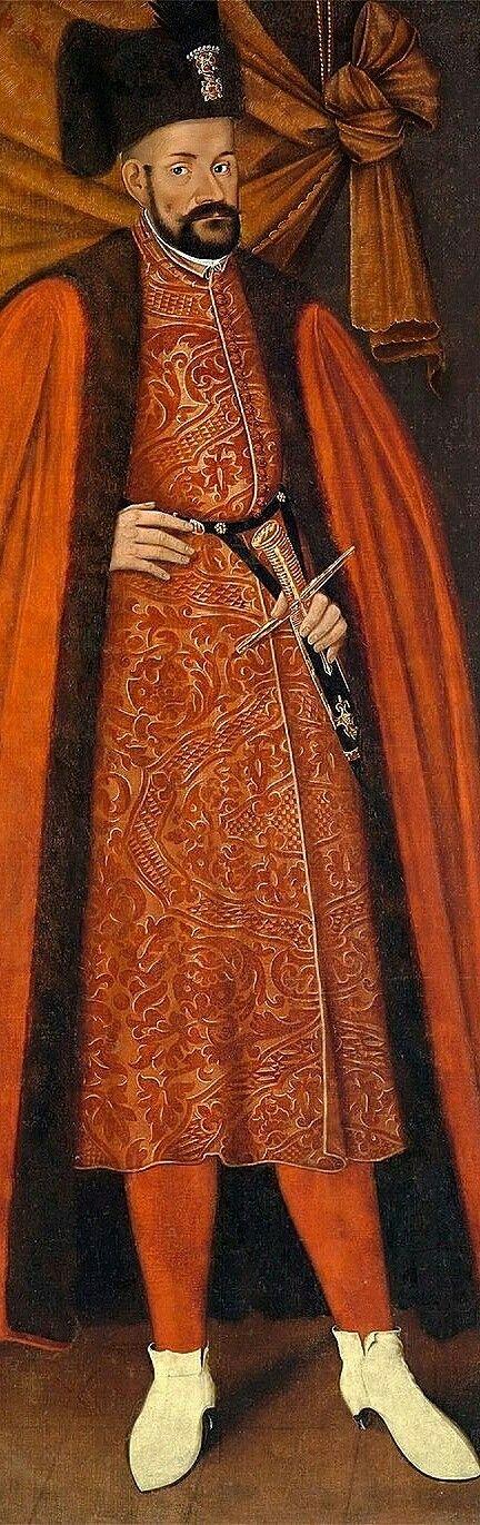 Portrait of King Stephen Bathory by Anonymous Painter, 1st half of the 17th century (PD-art/old), Zamek Królewski w Warszawie (ZKW)