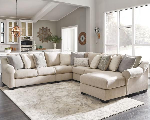 Carnaby 5 Piece Raf Sectional Ashley Homestore Canada In 2020 Large Sectional Sofa Ashley Furniture Living Room Ashley Furniture