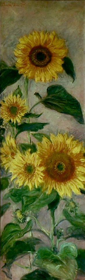 Soleils  Claude  Monet Merci Jean-Loup Pour la Photo.......
