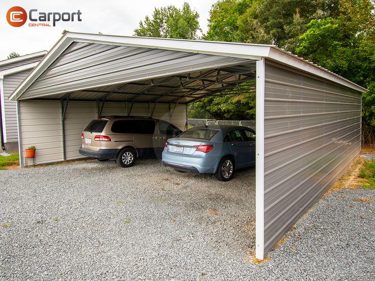 30x31 Vertical Roof Metal Carport30x31 Triple Wide