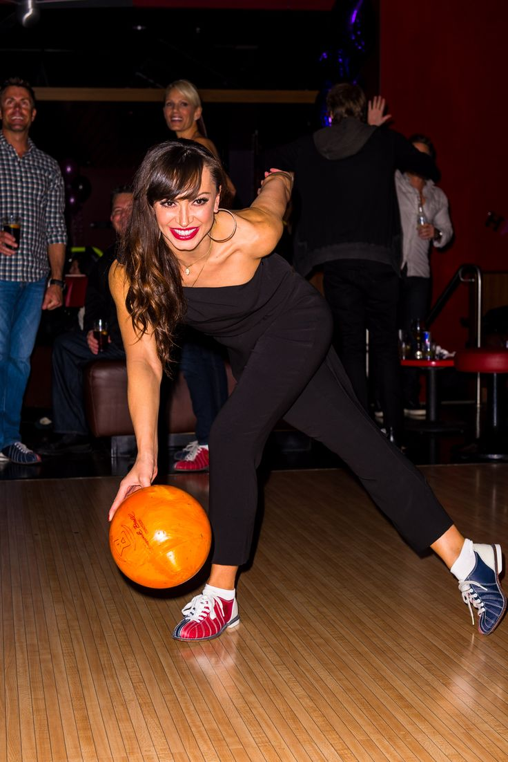 NEW PHOTOS: Karina Smirnoff Celebrates 35th Birthday With Maria Menounos At Bowlmor In Orange County