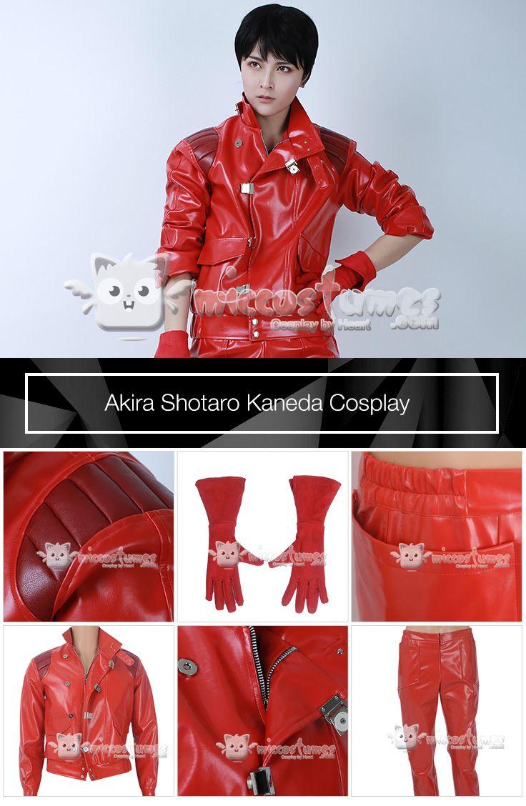 Akira Shotaro Kaneda Cosplay Costume Motorcycle Clothing Jacket Shotaro Kaneda Akira Cosplay