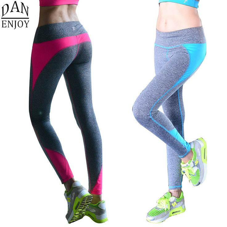 Yoga Pants Women Sport Leggings Tracksuits Tights Fitness Women Quick-Drying Polyester Compression Pants Sportswear C002 Z50
