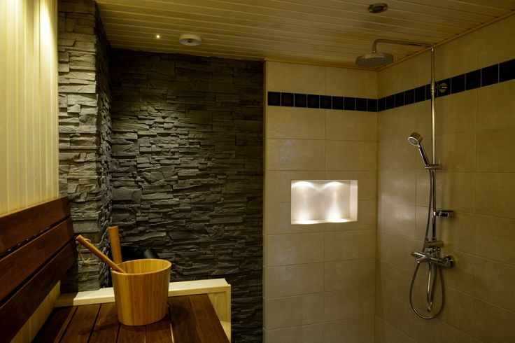 Sauna and bathroom, 2 in 1
