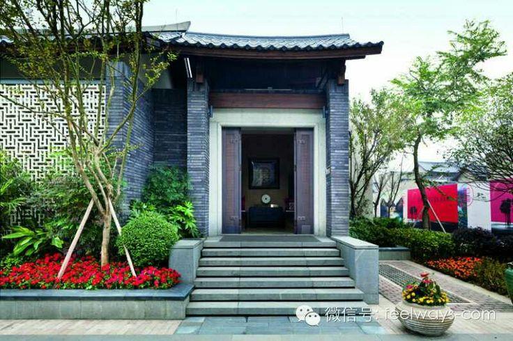 China.asain.entry.stair Villa