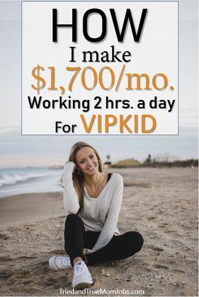 Machen Sie $ 2.000 / Monat Teilzeitarbeit für VIPKID von zu Hause aus – #aus #f… – Kochen