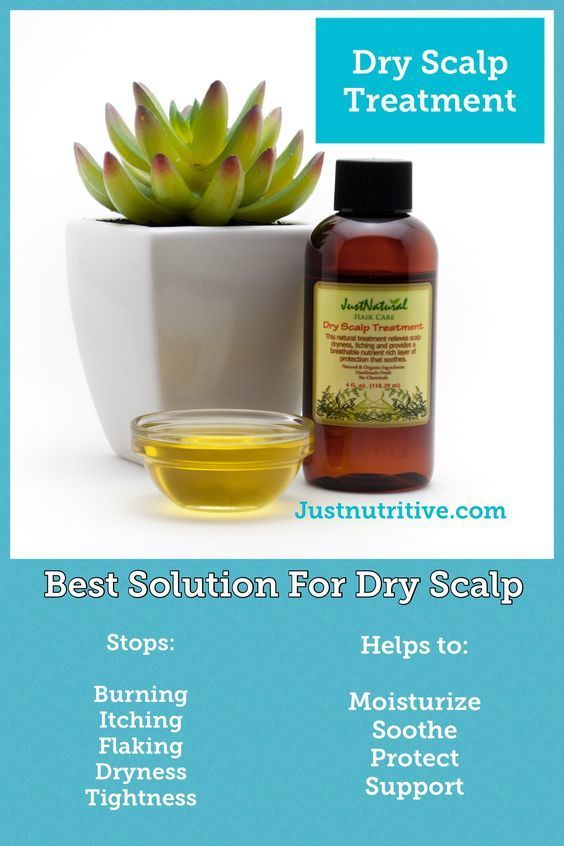 Dry Scalp Treatment   Oils- Dandruff   Just Nutritive